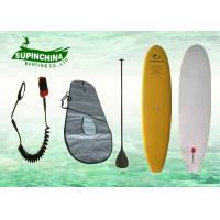China Round nose Soft Top Sup Boards , standup paddle board with Carbon Paddle / Deck Pad on sale
