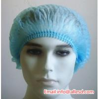 cleanroom pp non woven disposable bouffant cap Manufactures