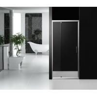 Quality Three Side Aluminium Frame Pivot Shower Screen 800 × 1900 mm with Clear Fixed for sale
