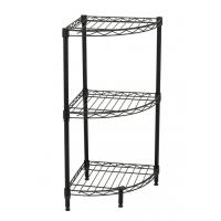 3-Tier Corner Bathroom Shelf Unit Corrosion Protection NSF Certified Manufactures