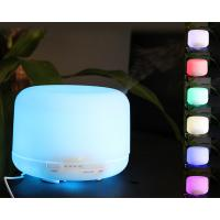 Quality 500ml Colorful LED Lights Ultrasonic Aromatherapy Diffuser Ultra Quiet for sale