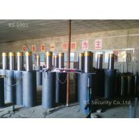 Automatic Hydraulic Bollards , Security Retractable Bollards 1000mm Height Manufactures