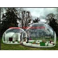 Quality custom dome clear tent with extra room, bubble tree tent, transparent tent for exhibition for sale