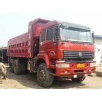 6*4 HOWOused sinotruck china  2012 5000  hours  dump truck for sale 371HP  10 Tires Manufactures