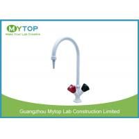 Brass Material Hot And Cold Water Tap For Lab Water Supply Chemical Resistant Manufactures