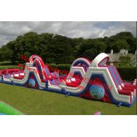 Inflatable Outdoor Play Equipment Inflatable Obstacle Courses Manufactures