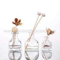 China 50ml,100ml,130ml Clear Glass Fragrance Bottles on sale