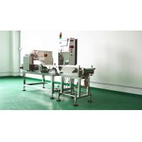 China Compact Check Weigher Machine , Conveyor Belt Industrial Metal Detector on sale