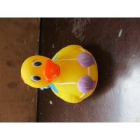 Quality Cute Plastic Weighted Color Changing Ducks For Warning Water Temperature for sale