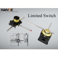 Yellow Position ( Rotation Angle ) Limited Switch For Complex Cranes And Lifting Hoists Manufactures