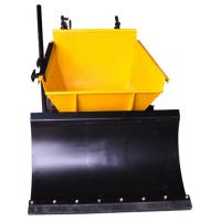 Popular 4 Wheel Powered Wheel Barrow Mini Dumper For Concrete Manufactures