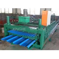 Smart Sheet Roll Forming Machine / Tile Roll Forming Machine For 850 Width Tiles Manufactures