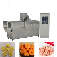 High Efficiency Snack Food Production Line / Corn Snacks Making Machine Manufactures