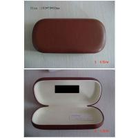Custom PU Leather Optical Eyewear Case , Reading Glasses Cases For Womens Manufactures