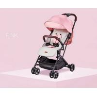 High View Portable Baby Carriage Stroller One Hand Folding For Newborn Sleep Sit Feeding Manufactures