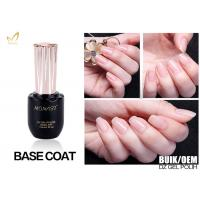 No Chemical 3 Steps Gel UV Base Coat For Lady'S Nail Beauty OEM Bulk Packing