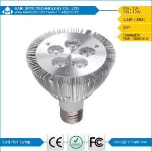 100lm/W 5W Dimmable LED Par Lights, AC 85-265V PAR 30 LED Light, For Indoor Lighting Manufactures