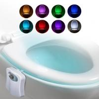 China Motion Sensor LED Night Light / Motion Activated Toilet Night For Bathroom on sale