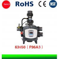 Electric Runxin Automatic Softner Control  Valve F96A3 Big Flow Water Softner Valve Manufactures