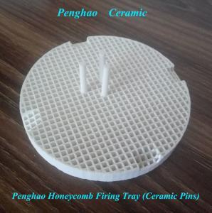 China D80mm Round Dental Ceramic Honeycomb Firing Tray  (ceramic pins) on sale