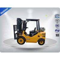 3 Tons No Pollution Dual Fuel Forklift With Standard / Upper - Positioner Exhaust Manufactures