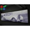 IP65 Waterproof Frameless LED Lightbox , Snap Frame Backlit Fabric Lightbox In Public Manufactures