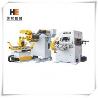 Quality 0.05mm Accuracy PLC Control Decoiler Straightener Feeder For Computer Box for sale