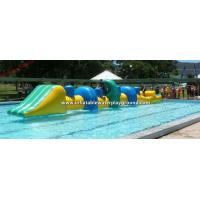 Outdoor Water Toys Inflatable Obstacle Course Games For Kids / Adults Manufactures
