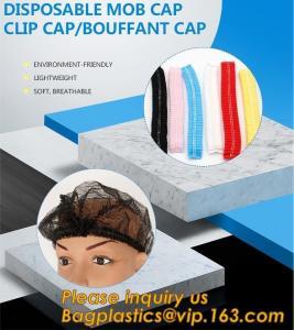Disposable MON CAP, CLIP CAP,BOUFFANT CAP,medical disposable surgical head caps,nonwoven mob cap,hair net NURSE CAP, MED Manufactures