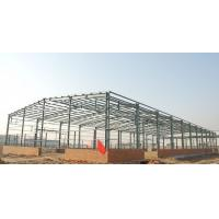 Quality Green Paint Garage Steel Frame Lightweight Steel Structures- Green Buildings for sale