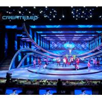 Full Color Indoor LED Display AirLED-6 Black Body Manufactures