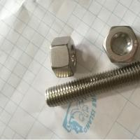 Hex Head Stainless Steel 12*150mm 316L Stud Bolt and Nuts Forged Pipe Fittings Manufactures