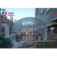 4m Diameter Inflatable Bubble Tent Price PVC Plant Warm House Garden Bubble Tent Manufactures