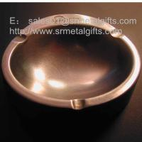 China Vintage bronzed cast metal souvenir cigar ash tray for collecting cigarette ashes, on sale