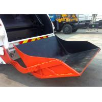 Quality Automatic Container Rear Loader Garbage Special Vehicles with 1.4m3 Bucket for sale