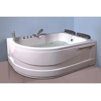 Air Bath Tub With Heater , 2 Person Jacuzzi Tub Indoor Handle Shower Included Manufactures
