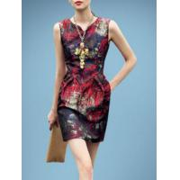 The new honourable European and American fashion sexy jacquard dress Manufactures