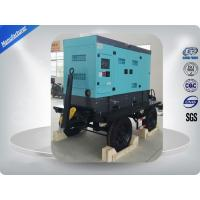 Water Cooled 50kw / 62.5kva Portable Diesel Generator With Cold Sheet Silent Canopy Manufactures