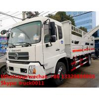 dongfeng tianjin 170hp/190hp gas canisters transporting vehicle for sale, best price stake van truck for gas cylinders Manufactures