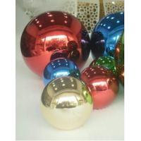 China Electroplated Hollow Steel Balls Metal Spheres Stainless Float Hollow Balls on sale