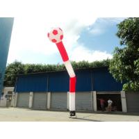 Business Promotion Red Inflatable Air Tube for Advertising with One Leg Manufactures