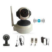 Night Vision Wifi HD IP Camera / GSM Alarm System Indoor Security APP Control Manufactures