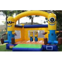 cheap party used commercial minion inflatable bounce house for sale