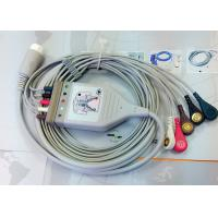 Medical Compatible ECG Patient Cable 12 Pin One Piece Ecg Cables And Leadwires Manufactures