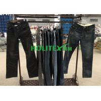 Korean Style Used Mens Pants , Second Hand Mens Jeans Pants For Southeast Asia Manufactures