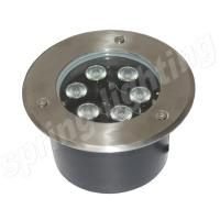 IP65 6Watt RGB LED Flood Light Aluminum Alloy , Led Underground Light Manufactures