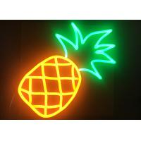 China Led Fluorescent Bar Signs , Wall Mounted Neon Signs 12V Working Voltage on sale