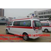 Quality High quality and lower price FOTON MP E series transiting ambulance vehicle for for sale