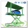 Four Post Parking Lift with Pit/Car Post Parking Lift/ Double Car Parking System/ Underground Double Parking Lift Manufactures