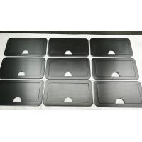 150 Grind on Both Side Black Anodized Aluminium Industrial Profile For Sturdy Retractable Lid Manufactures